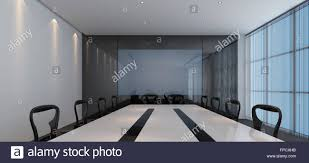 Stylish Furniture Interior Of A Modern Corporate Conference Room With Stylish