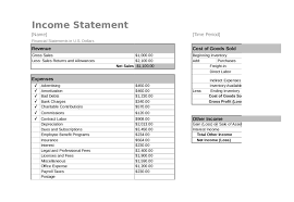 2017 income statement form fillable printable pdf u0026 forms