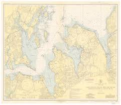 Map Of Long Island New York by New York Historical Nautical Charts