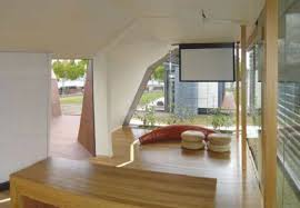 Long Narrow Living Room Ideas by Wooden Long Narrow Living Room Idea With Simple Furniture Choice