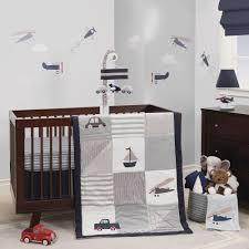 Airplane Crib Bedding Evan Lambs