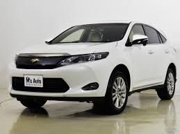 second hand toyota harrier buy u0026 sell your car online motors co th