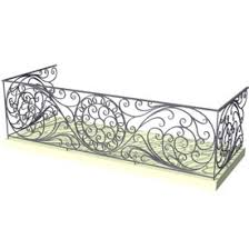iron balcony 3d object free artlantis objects download