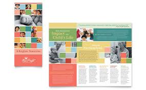 free brochure templates for word 2010 non profit brochure templates free fieldstation co