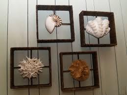 seashell wall decor decals for bathroom make nautical wall with image of seashell wall decor ideas
