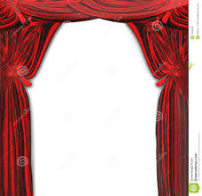 Fancy Drapes Vector Beautiful Red Drapes Stock Vector Image 7006266