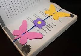 unique bookmarks butterfly flower bookmarks inspire create