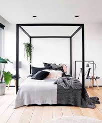 Black Canopy Bed Canopy Beds Four Poster Goes Modern Ikea Bed Canopy And