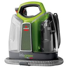 bissell green proheat portable upholstery and carpet