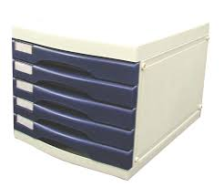 Desk Storage Drawers Office 1 A4 Multi Drawer Storage System 5 Drawers W O Lock
