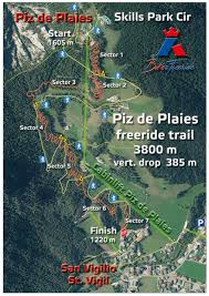 Aviano Italy Map by Mtb Freeride Kronplatz All Trails