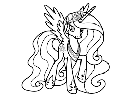 pony princess coloring pages chuckbutt
