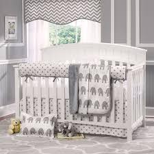 Zutano Elephant Crib Bedding Organic Baby Bedding Set Pottery Barn Elephant Crib