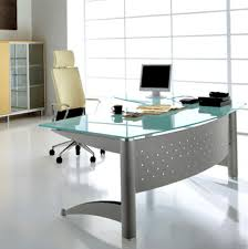 Glass Home Office Desk Epic Glass Home Office Desk On Home Design Ideas With Glass Home
