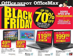 office depot officemax black friday 2015 ad includes 90 windows