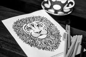 lion coloring page sarah renae clark coloring book