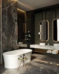 Luxury Bathroom Designs by Oko Apartment By Tolko Interiors Homeadore Bathrooms