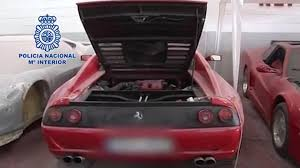 fake ferrari body kit spanish police shown raiding factory that built fake ferraris