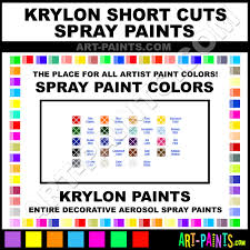 krylon short cuts spray paint aerosol colors krylon short cuts