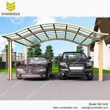 Car Port Roof Prefab Carports Alu Carport Modern Car Shade Sunshield Shelter