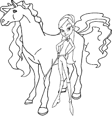 74 free printable horseland coloring pages kids