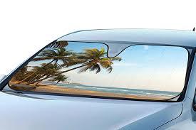 Boat Blinds And Shades Proz Beach Windshield Sun Shade Beach Car Window Shade