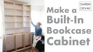 How To Build A Corner Bookcase Step By Step Built In Bookcases U0026 Cabinet Construction Youtube