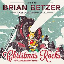the brian setzer orchestra rocks at the warfield in san