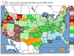 World Map Of Tornadoes by March 2015 Sees Lowest Tornado Count Nationally Fox17