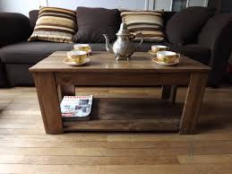table basse chambre chambre de charme table basse bois de recup haute résolution fond d