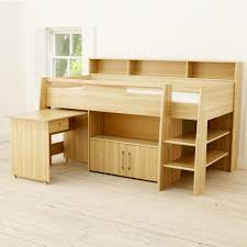 Children S Table With Storage by Reece Midsleeper Cabin Bed Beech All Children U0027s Beds Beds