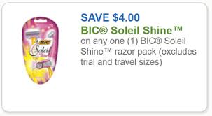 target black friday shaver coupon bic coupon 4 off any bic soleil shine razor pack a target deal
