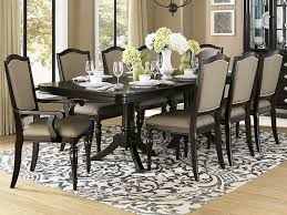 Dining Table And Six Chairs Marston Dining Table With Six Chairs The Furniture Mart