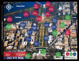 Washington Dc Zoo Map by Aerial View Of Dc See Dc Today