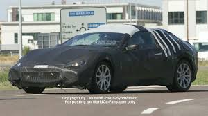 camo maserati spy photos more maserati gt coupe