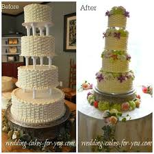 cake pillars wedding cakes with fresh flowers are naturally breathtaking
