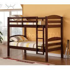 Solid Oak Bunk Bed Bunk Beds Carolina Solid Wood Bunk Bed Espresso Wke