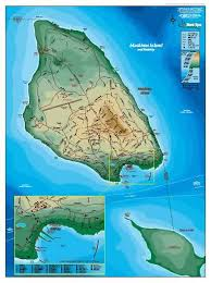 map of mackinac island information about mackinac island poster