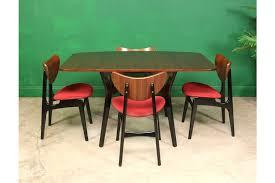 butterfly drop leaf table and chairs g plan drop leaf table 4 butterfly dining chairs kitchen mid