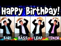happy birthday song a cappella free fun ecards greeting