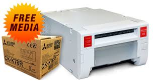 photo booth printer mitsubishi cp k60dw photo printer free media promotion