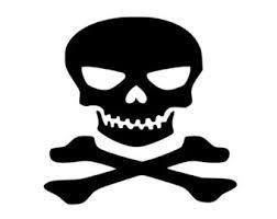 skull and bones svg etsy
