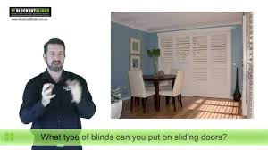 window blind options for your sliding doors youtube