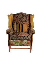 Burgundy Accent Chair Wide Arm Flower Burgundy Accent Chair Chairy Couture
