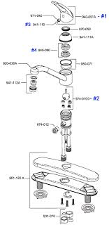 kitchen faucet diagram to repair a leaking kitchen faucet regarding leaky kitchen sink