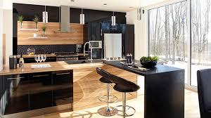 cuisine mur noir trucs déco la magie du noir les idées de ma maison