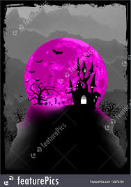 halloween background pink halloween halloween poster background eps 8 stock illustration