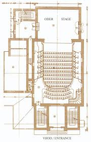 ground plan theatre database theatre architecture database projects