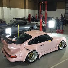 rwb porsche 911 rwb building a porsche 911 tribute to 917 20 pink pig racecar in
