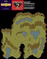 Yahoo Maps Com Mother 2 Lilliput Steps Super Nintendo Snes Map Bg